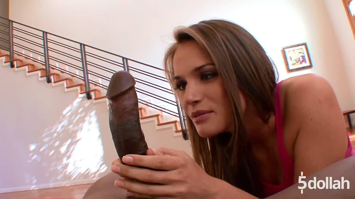 Amazing Tori Black Gets Her Hands, Mouth And Pussy On A BBC