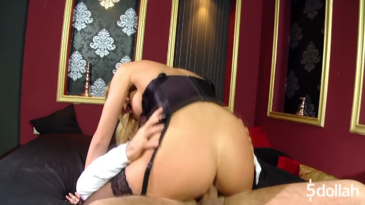 Fantastic Blonde Gilda Robers In A Dazzling Anal Sex Session
