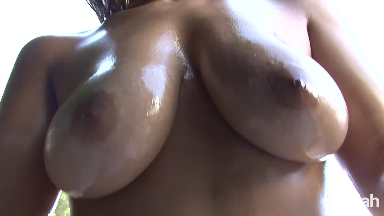 Naturally Busty Chavon Takes Black Cock Up Her White Ass