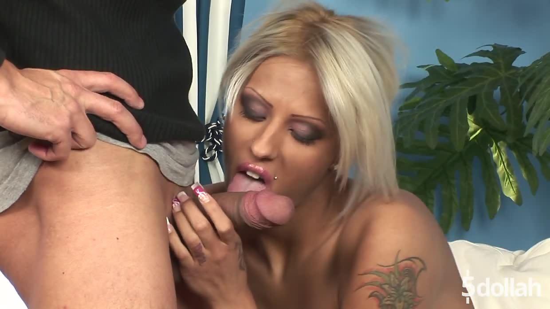 Hot Blonde Maid Black Diamond Sucks And Fucks In Lingerie
