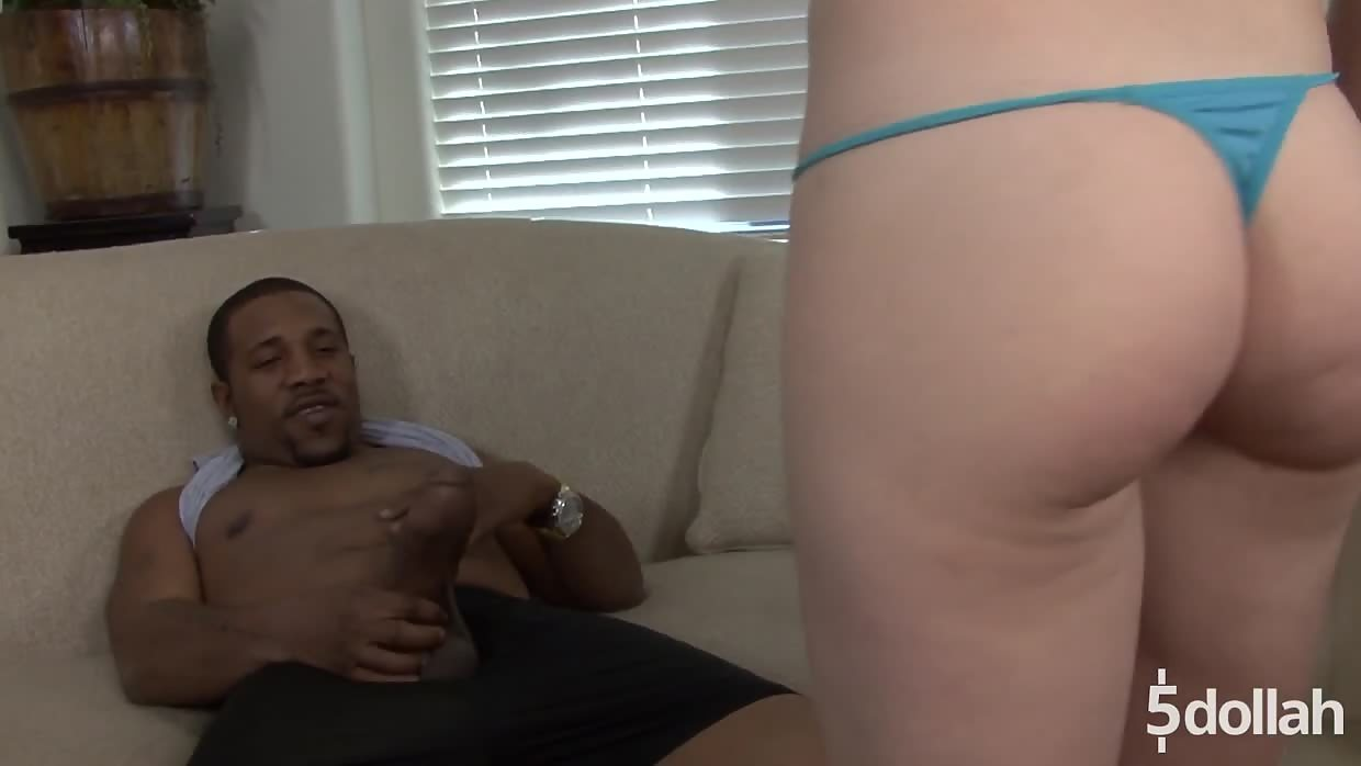 Slender Redhead Trinity Gets Her Tiny Ass Plundered By BBC