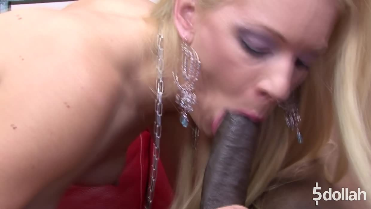 Tattooed Blonde Heidi Takes Black Cock Up Her White Ass