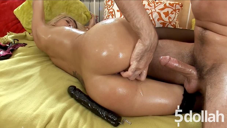 Hardcore Pussy And Anal Fucking With Slutty Blonde Nicole